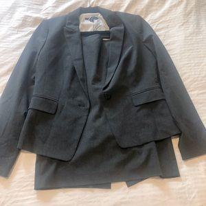 Ann Taylor charcoal suit